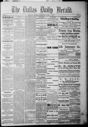 Primary view of The Dallas Daily Herald. (Dallas, Tex.), Vol. 3, No. 97, Ed. 1 Saturday, June 5, 1875