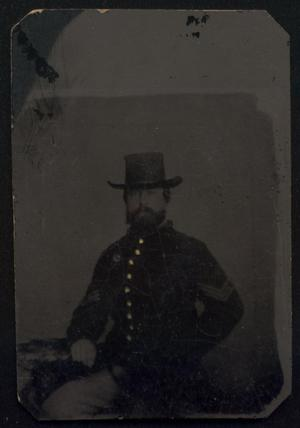 Primary view of object titled '[Man in Uniform]'.