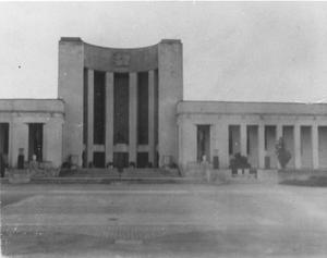 Primary view of object titled 'Hall of State, Fair Park'.