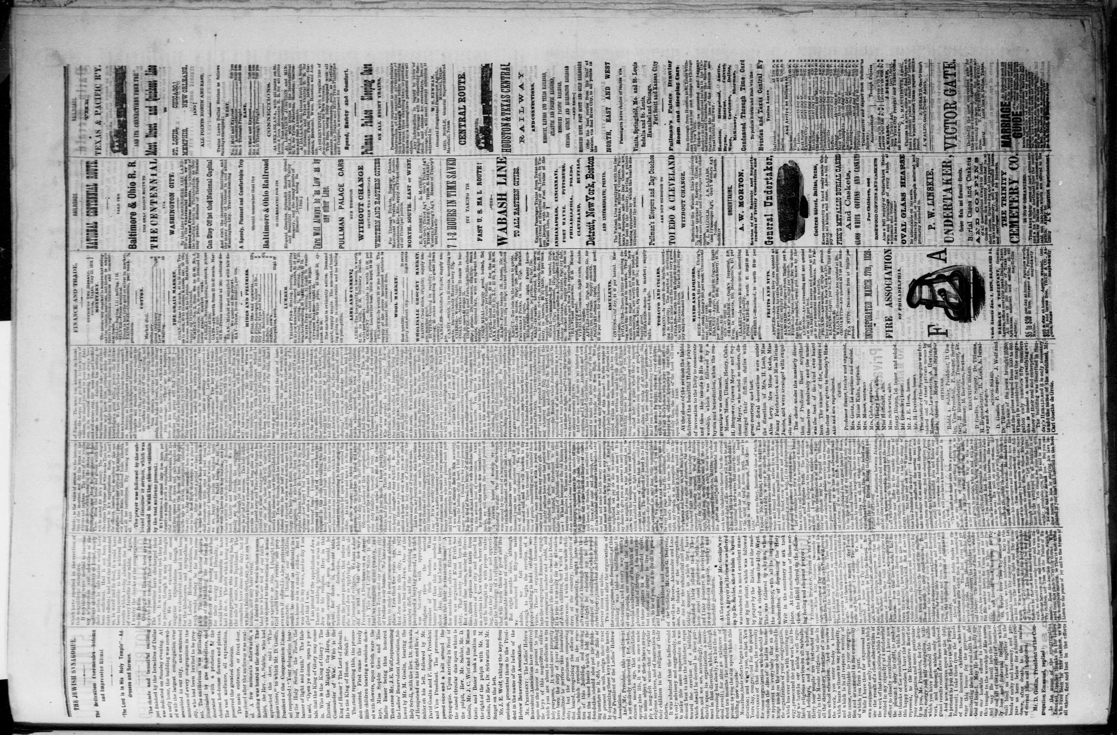The Dallas Daily Herald. (Dallas, Tex.), Vol. 4, No. 95, Ed. 1 Tuesday, May 30, 1876                                                                                                      [Sequence #]: 3 of 4