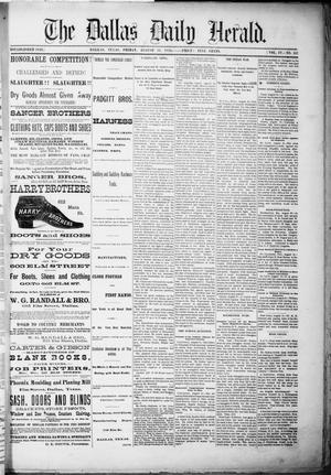 Primary view of object titled 'The Dallas Daily Herald. (Dallas, Tex.), Vol. 4, No. 157, Ed. 1 Friday, August 11, 1876'.