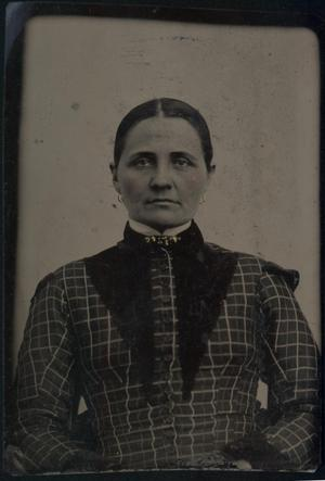 [Woman in Checkered Dress]