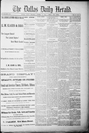 Primary view of object titled 'The Dallas Daily Herald. (Dallas, Tex.), Vol. 4, No. 211, Ed. 1 Thursday, October 12, 1876'.
