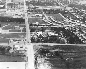 Primary view of object titled 'Intersection of Pipeline Road and Precinct Line Road, 1964'.