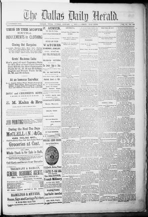 Primary view of object titled 'The Dallas Daily Herald. (Dallas, Tex.), Vol. 4, No. 266, Ed. 1 Sunday, January 7, 1877'.