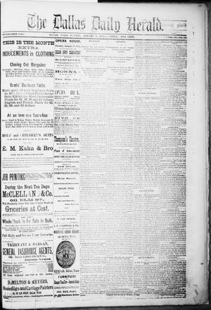 Primary view of object titled 'The Dallas Daily Herald. (Dallas, Tex.), Vol. 4, No. 267, Ed. 1 Tuesday, January 9, 1877'.