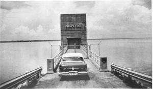 Primary view of object titled 'Car at Tile Gauge at Lake Grapevine'.