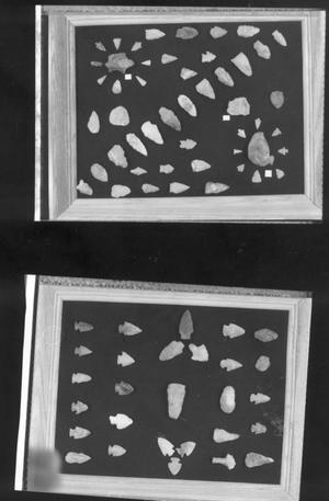 Primary view of object titled 'Arrowhead Collection'.