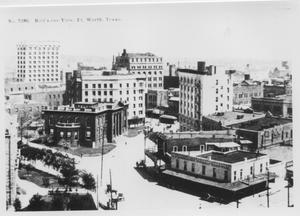 Primary view of object titled 'Bird's Eye View. Fort Worth, Texas.'.