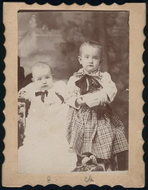 [Portrait of Arthur and Jim Harmon]