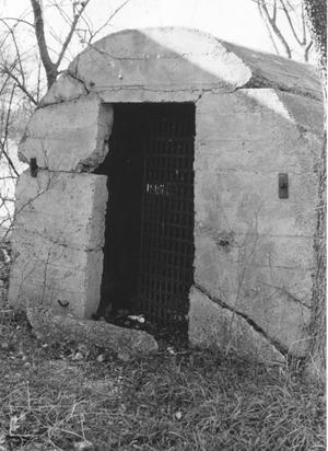 Primary view of object titled 'Grapevine Jail'.