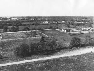 Primary view of object titled '[Aerial Photograph of a Section of Bedford, Texas #3]'.