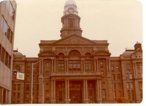 Primary view of object titled 'Tarrant County Courthouse'.