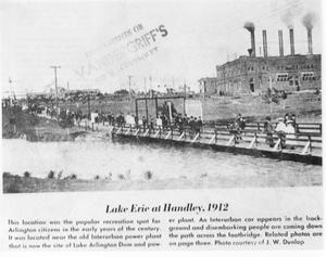 Primary view of object titled 'Lake Erie at Handley'.