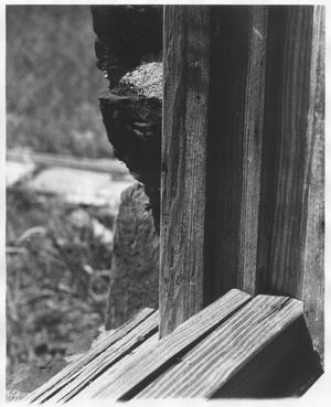 Primary view of object titled 'Window Sill of Sandstone Rock House'.