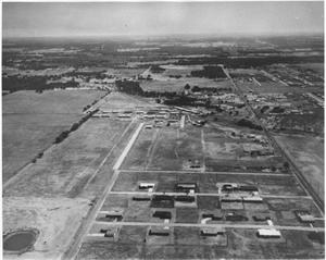 Primary view of object titled '[Aerial Photograph of a Section of Hurst, Texas #3]'.