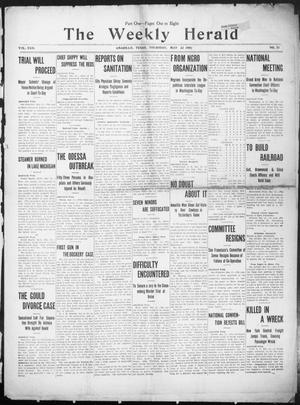 The Weekly Herald. (Amarillo, Tex.), Vol. 22, No. 21, Ed. 1 Thursday, May 23, 1907
