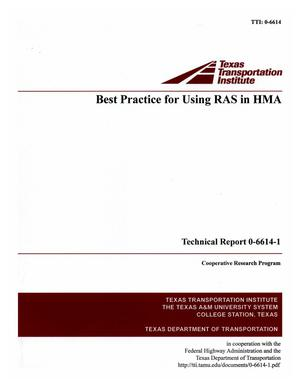 Primary view of object titled 'Best practice for using RAS in HMA'.