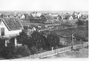 Primary view of object titled 'Portion of Residence District, Grapevine, Texas'.