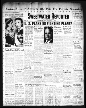 Primary view of object titled 'Sweetwater Reporter (Sweetwater, Tex.), Vol. 41, No. 76, Ed. 1 Friday, July 1, 1938'.