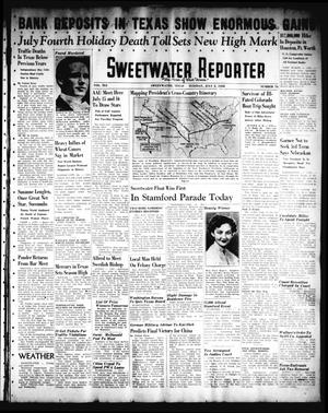 Primary view of object titled 'Sweetwater Reporter (Sweetwater, Tex.), Vol. 41, No. 79, Ed. 1 Tuesday, July 5, 1938'.
