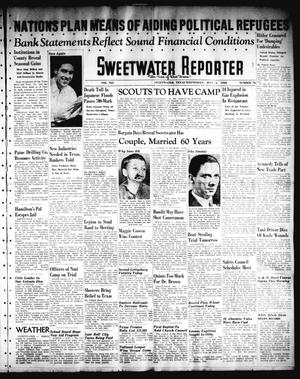 Primary view of object titled 'Sweetwater Reporter (Sweetwater, Tex.), Vol. 41, No. 80, Ed. 1 Wednesday, July 6, 1938'.