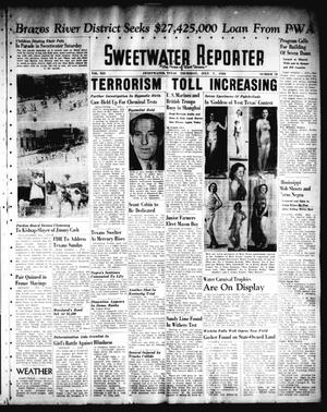 Primary view of object titled 'Sweetwater Reporter (Sweetwater, Tex.), Vol. 41, No. 81, Ed. 1 Thursday, July 7, 1938'.