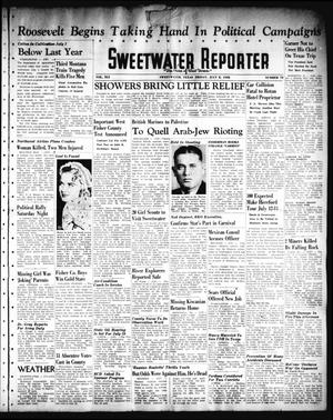 Primary view of object titled 'Sweetwater Reporter (Sweetwater, Tex.), Vol. 41, No. 82, Ed. 1 Friday, July 8, 1938'.