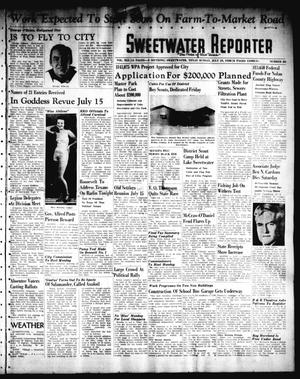 Primary view of object titled 'Sweetwater Reporter (Sweetwater, Tex.), Vol. 41, No. 83, Ed. 1 Sunday, July 10, 1938'.