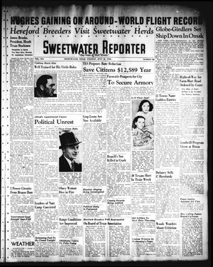Primary view of object titled 'Sweetwater Reporter (Sweetwater, Tex.), Vol. 41, No. 85, Ed. 1 Tuesday, July 12, 1938'.