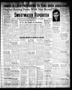 Primary view of object titled 'Sweetwater Reporter (Sweetwater, Tex.), Vol. 41, No. 86, Ed. 1 Wednesday, July 13, 1938'.