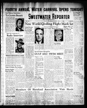 Primary view of object titled 'Sweetwater Reporter (Sweetwater, Tex.), Vol. 41, No. 87, Ed. 1 Thursday, July 14, 1938'.