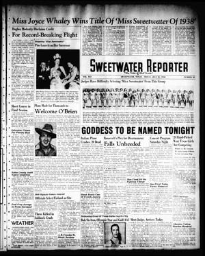 Sweetwater Reporter (Sweetwater, Tex.), Vol. 41, No. 88, Ed. 1 Friday, July 15, 1938