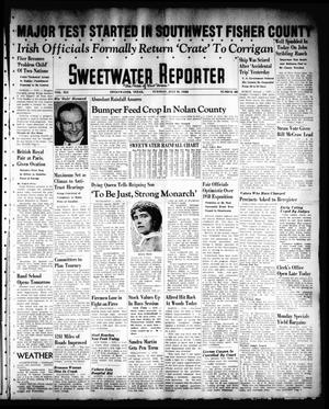 Primary view of object titled 'Sweetwater Reporter (Sweetwater, Tex.), Vol. 41, No. 91, Ed. 1 Tuesday, July 19, 1938'.