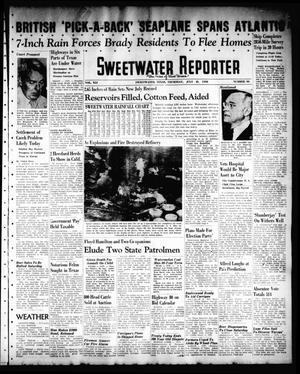 Primary view of object titled 'Sweetwater Reporter (Sweetwater, Tex.), Vol. 41, No. 93, Ed. 1 Thursday, July 21, 1938'.