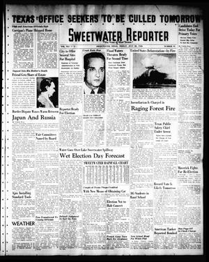Sweetwater Reporter (Sweetwater, Tex.), Vol. 41, No. 94, Ed. 1 Friday, July 22, 1938