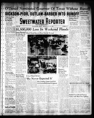 Primary view of object titled 'Sweetwater Reporter (Sweetwater, Tex.), Vol. 41, No. 96, Ed. 1 Monday, July 25, 1938'.