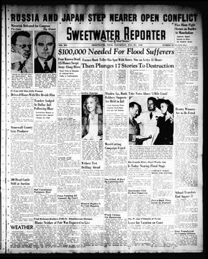 Primary view of object titled 'Sweetwater Reporter (Sweetwater, Tex.), Vol. 41, No. 98, Ed. 1 Wednesday, July 27, 1938'.