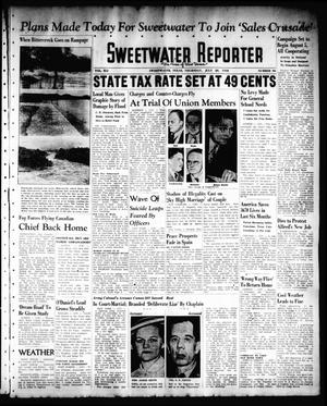 Primary view of object titled 'Sweetwater Reporter (Sweetwater, Tex.), Vol. 41, No. 99, Ed. 1 Thursday, July 28, 1938'.