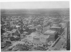 Primary view of object titled 'Section of Downtown Fort Worth in 1920'.