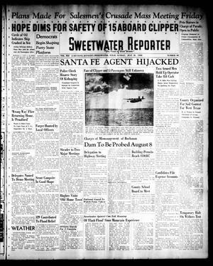 Primary view of object titled 'Sweetwater Reporter (Sweetwater, Tex.), Vol. 41, No. 101, Ed. 1 Sunday, July 31, 1938'.