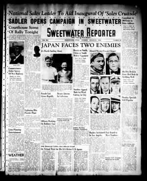 Primary view of object titled 'Sweetwater Reporter (Sweetwater, Tex.), Vol. 41, No. 103, Ed. 1 Tuesday, August 2, 1938'.