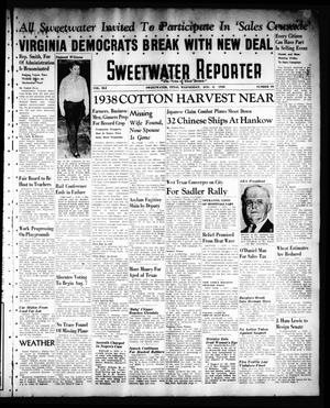Primary view of object titled 'Sweetwater Reporter (Sweetwater, Tex.), Vol. 41, No. 104, Ed. 1 Wednesday, August 3, 1938'.