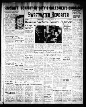 Primary view of object titled 'Sweetwater Reporter (Sweetwater, Tex.), Vol. 41, No. 106, Ed. 1 Friday, August 5, 1938'.