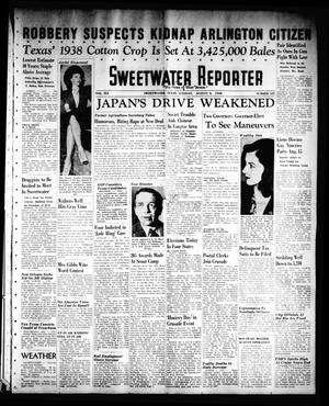Primary view of object titled 'Sweetwater Reporter (Sweetwater, Tex.), Vol. 41, No. 109, Ed. 1 Tuesday, August 9, 1938'.