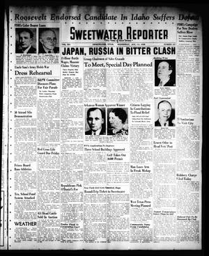 Primary view of object titled 'Sweetwater Reporter (Sweetwater, Tex.), Vol. 41, No. 110, Ed. 1 Wednesday, August 10, 1938'.