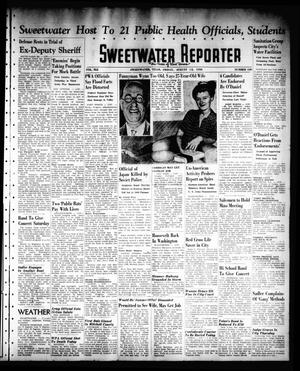Sweetwater Reporter (Sweetwater, Tex.), Vol. 41, No. 112, Ed. 1 Friday, August 12, 1938