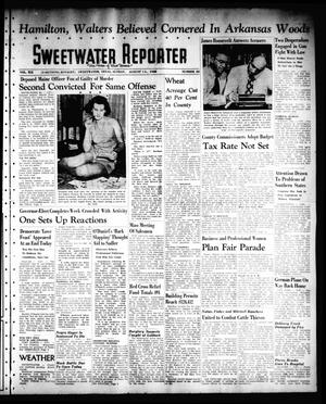 Primary view of object titled 'Sweetwater Reporter (Sweetwater, Tex.), Vol. 41, No. 113, Ed. 1 Sunday, August 14, 1938'.