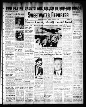 Primary view of object titled 'Sweetwater Reporter (Sweetwater, Tex.), Vol. 41, No. 114, Ed. 1 Monday, August 15, 1938'.