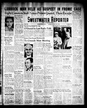 Primary view of object titled 'Sweetwater Reporter (Sweetwater, Tex.), Vol. 41, No. 115, Ed. 1 Tuesday, August 16, 1938'.